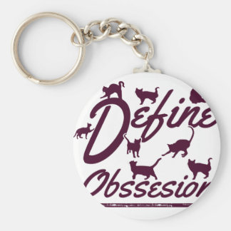Cat lover tshirts keychain