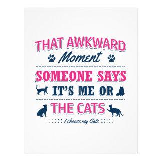 Cat lover tshirts letterhead design