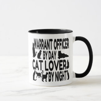 Cat Lover Warrant Officer Mug