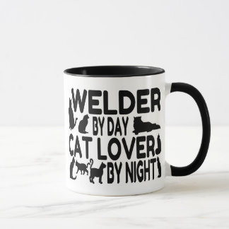 Cat Lover Welder
