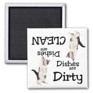 Cat Lovers Dishwasher Magnet