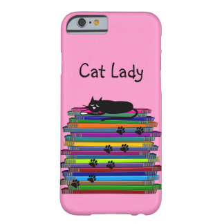 "Cat Lovers iPhone 6 case ""Cat Lady"" Barely There iPhone 6 Case"