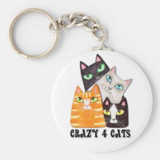 Cat Lover's Key Chain