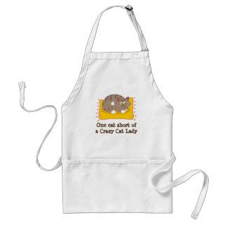 Cat Lovers Kitchen Apron