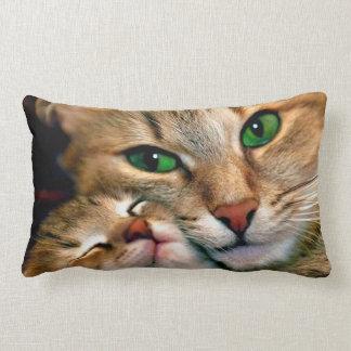 Cat Lovers Lumbar Pillow