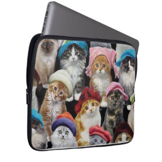 Cat Lovers Neoprene Laptop Sleeve