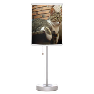 Cat Lovers Table Lamp