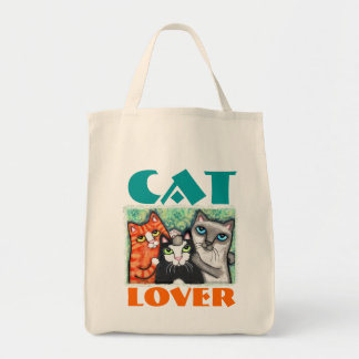 Cat Lover's Tote Bag