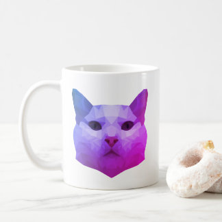 Cat Low Poly Mug