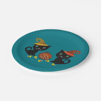 Cat Magic Paper Plate