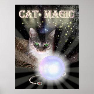 Cat Magic Poster