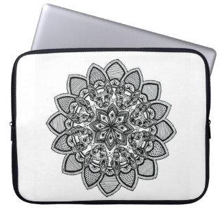 CAT MANDALA laptop sleeve