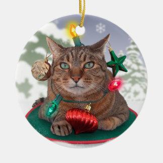 Cat-mas Tree Ornament