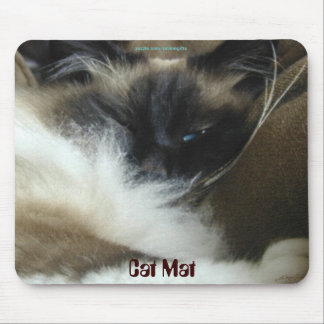 """Cat Mat"" Feline lover Mouse Mat"