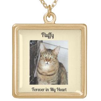 Cat Memorial Gift, Cat Photo Locket Necklace