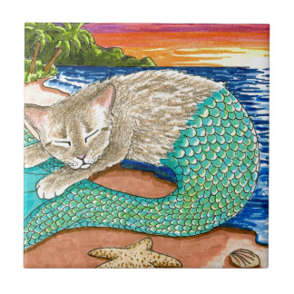 Cat Mermaid 23 Tile