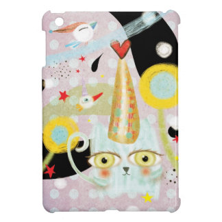 Cat Miau Kawaii Cute iPad Mini Case