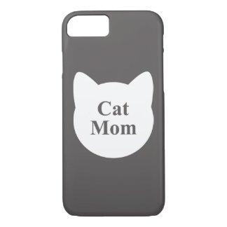 Cat Mom Case-Mate iPhone Case