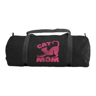 Cat Mom Gym Bag