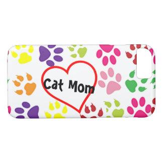cat mom iPhone 7 case pet smartphone cover