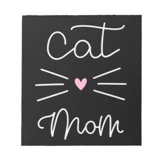cat mom notepad