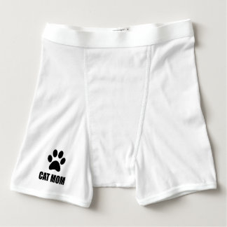Cat Mom Paw Boxer Briefs