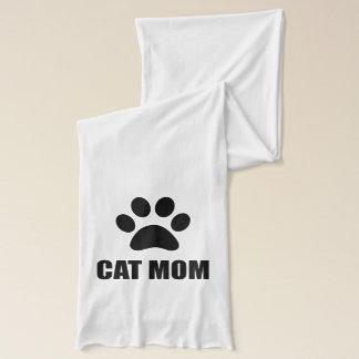 Cat Mom Paw Scarf
