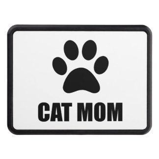 Cat Mom Paw Trailer Hitch Cover