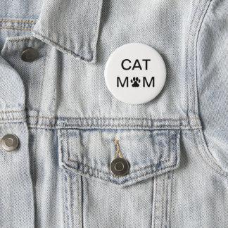 Cat Mom Pin