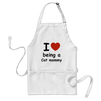 cat mommy design standard apron