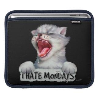 CAT MONDAY CUTE CARTOON iPad H iPad Sleeve