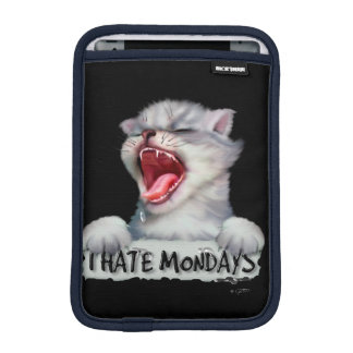 CAT MONDAY CUTE CARTOON iPad Mini iPad Mini Sleeve
