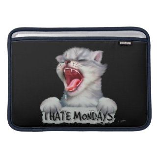 "CAT MONDAY CUTE CARTOON Macbook Air - 11 "" MacBook Sleeve"