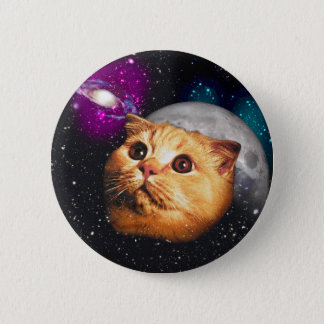 cat moon ,cat and moon ,catmoon ,moon cat 2 inch round button