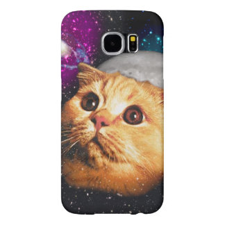 cat moon ,cat and moon ,catmoon ,moon cat samsung galaxy s6 case