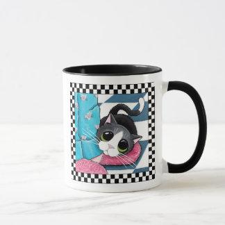 Cat Morning Ankle Warmer   Cat Art Mug
