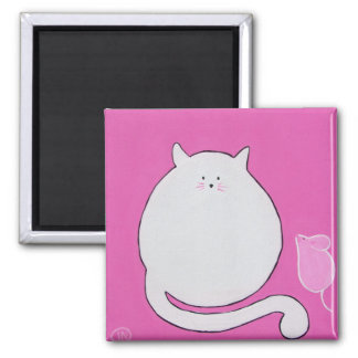 Cat & Mouse Magnet