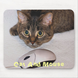 Cat & Mouse Mousepad