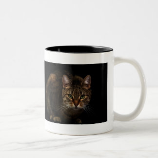 Cat Two-Tone Mug