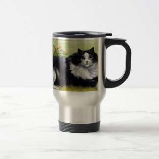 Cat Mug, Maine Coone Travel Mug