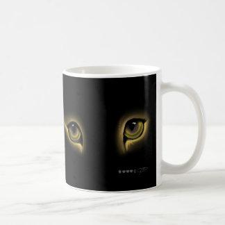 CAT MUG, YEUX DE CHAT White 11oz Classic White Mug