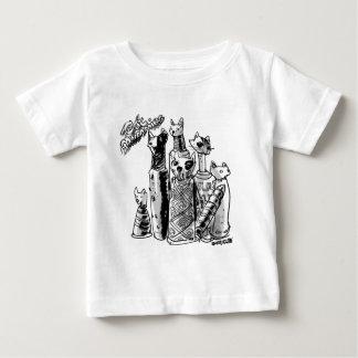 cat_mummies baby T-Shirt