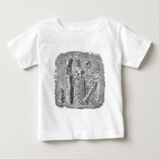 cat mummies grey baby T-Shirt