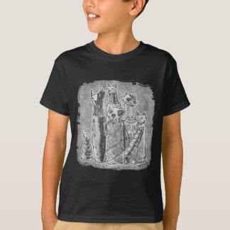 cat mummies grey T-Shirt