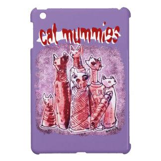cat mummies iPad mini cases