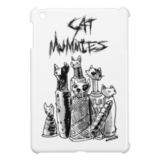 cat mummies iPad mini cover