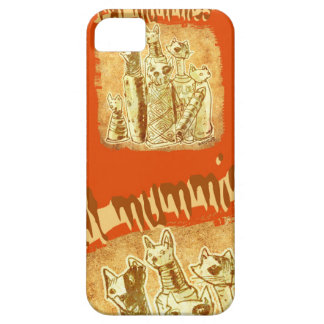 cat mummies iPhone 5 case