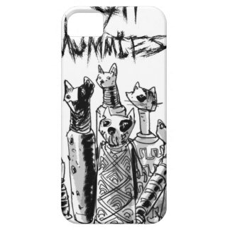 cat mummies iPhone 5 covers