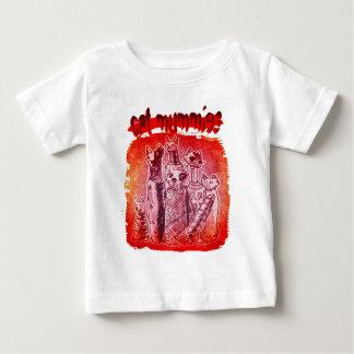 cat mummies orange red baby T-Shirt