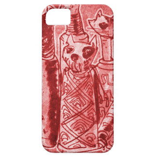 cat mummies red case for the iPhone 5